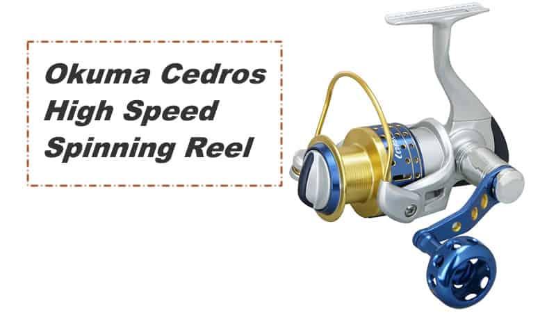 Okuma Cedros High Speed Spinning Reel 1