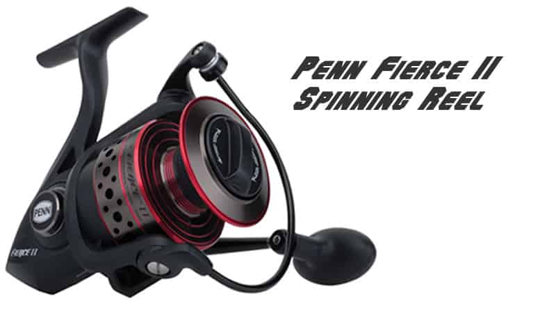 Penn Fierce II Spinning Reel Review 2017-2018 - Best Fishing Tackle