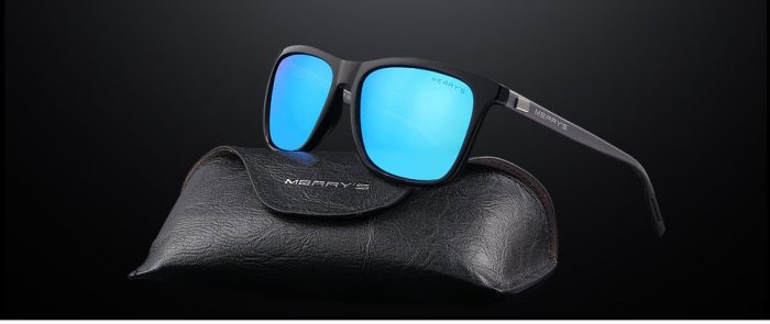 MERRY'S Unisex Polarized Aluminum Sunglasses Vintage Sun Glasses