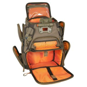 Custom Leathercraft Wild River by CLC WT3503 Tackle Tek Recon Lighted Compact Tackle Backpack