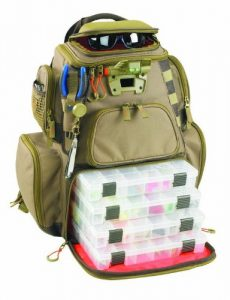 Custom Leathercraft Wild River by CLC WT3604 Tackle Tek Nomad Lighted Backpack