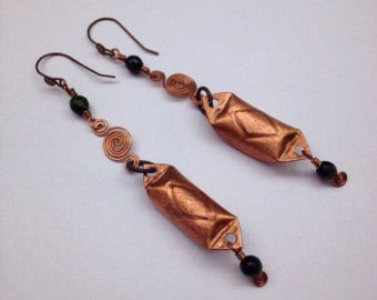 copper fishing lure