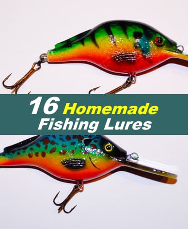 16 Homemade Fishing lures Ideas