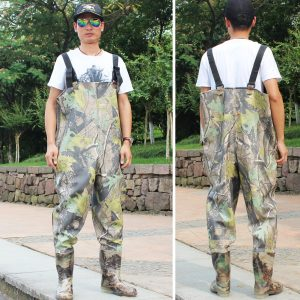 Sougayilang Boot-Foot Chest Waders