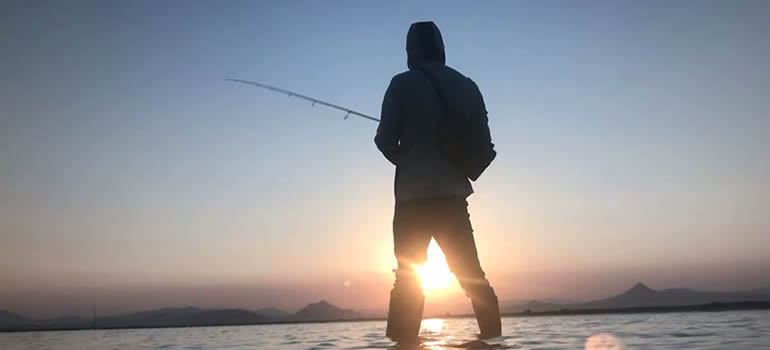 How to Spin for Trout at Night